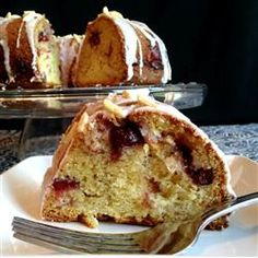 """Sandy's Cranberry Coffee Cake 