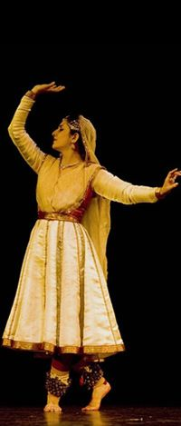 kathak is one of the most important classical dances of india.