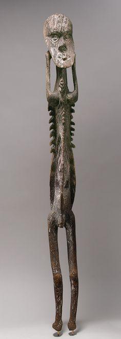Male Figure [Inyai-Ewa people, Korewori River, Middle Sepik region, Papua New Guinea] (1978.412.856) | Heilbrunn Timeline of Art History | The Metropolitan Museum of Art