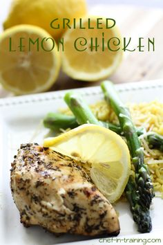 Grilled Lemon Chicken Recipe - Things To Do Yourself - DIY