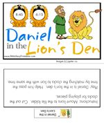 Daniel in the Lion's Den Game