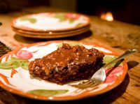 Great grandma's secret chocolate cake recipe: http://alicegolden.typepad.com/these_golden_days/2008/10/great-grandmoms-chocolate-cake.html