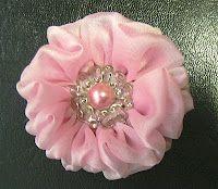fluffi ballerina, ballerina bloom, tutorials, bloom tutori, sew project, craft idea, diy, handmad flower, fabric flower