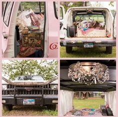 large marge 'junk my ride' !!!! from @gactv #diycarchandelier #pink
