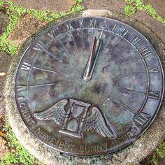 Sundial near Manoa Falls, Oahu HI