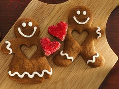 Here's My Heart Gingerbread Pals