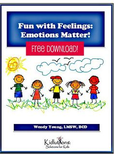 "Our ""Fun with Feelings"" downloadable workbook is available now.  It's F*REE! Over 1000 downloaded.  Get yours while you can! #ece #earlyed #preschool #parenting #feelings"