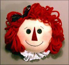 ann face, de clown, doll patterns, face de, raggedy ann, clowns