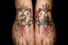 i like the one on the right Disney tattoo