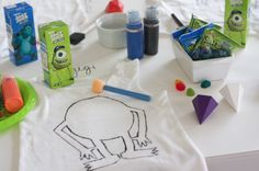 Monster Party Ideas Inspired by Monsters U