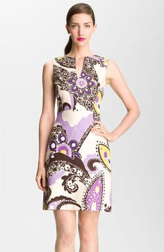 kate spade new york 'kerian' print sheath dress | Nordstrom