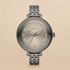 FOSSIL® Watch Collections Bridgette :Women Bridgette Stainless Steel Watch – Smoke AM4390