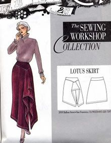 Birch Steet Clothing : Sewing Workshop Collection / Lotus Skirt