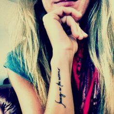 Tattoo placement & typography