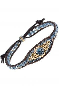 leather bracelet with jewelry beads I designed by #miguel #ases I NEWONE-SHOP.COM