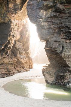 Cove, water, beach//