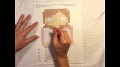 Frozen Anna Bean- Subtraction Pixel Puzzle Coloring Video