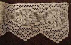 filet crochet edging - Bing Immagini