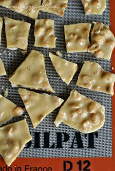 Peanut Brittle: made in the microwave in TEN minutes!