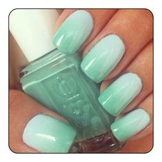 Ombre Essie Nails #ombre #nails #cute