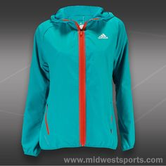 Adidas Barricade Jacket #TennisCouture #TennisFashion