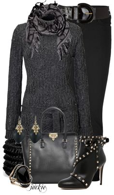 """""""Studded"""" by jackie22 on Polyvore"""