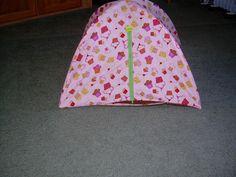 Doll tent idea (no pattern)