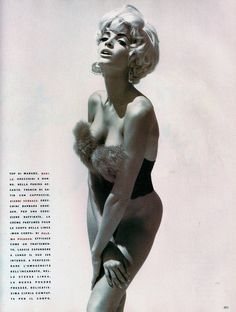 'Pin Up' from……………Vogue Italia October 1990 feat Stephanie Seymour