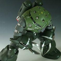 Fuck Yeah! Japanese Robots! // botboxgunpla: MG MSM-07S Z'Gok customise