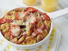 Ham and Cheese Breakfast Casserole  #RecipeOfTheDay #FNMag