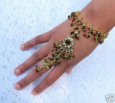 "Beautiful ""Love Slave"" Bracelet with Ring http://myworld.ebay.com/kikimalone13"