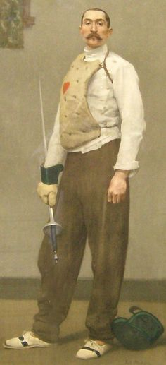 The Fencing Master Repinned by Hub City Fencing Academy of Edison, NJ.