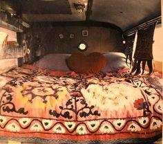 camper, van, bus, mobile homes, dream, nest, road trips, gypsy life, bedroom