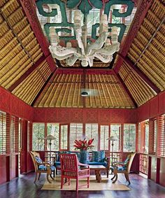 Balinese/Indonesian Asian House, Asian Interiors, Asian Style, Balinese Indonesian, Bali Decor Culture Art People, Living Interiors, Interiors Spaces, Balinese Decor, Balinese Dreams