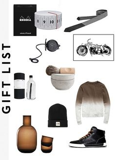 gift guide for him by AMM blog