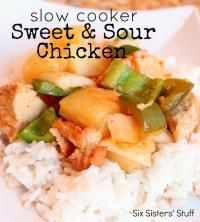 Six Sisters Slow Cooker Sweet and Sour Chicken