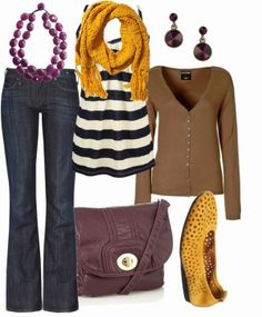 Get Inspired by Fashion: Spring Outfits | Plum & Yellow