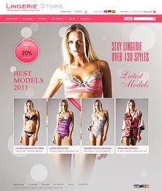 Lingerie Web Site 86