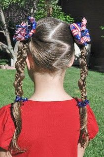 fourth of july hair