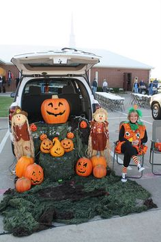 Trunk or Treat, Pumpkin Patch