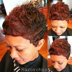 Razor chic hair of Atlanta hair