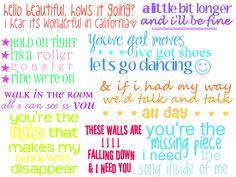 jonas brothers lyrics :)