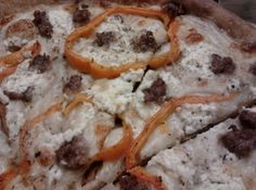 Garlic & Olive Oil Goat Cheese Pizza