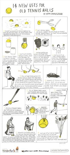 14 New Uses for Old Tennis Balls « The Secret Yumiverse