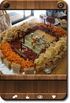 Superbowl Snackadium for the Big Game!