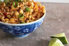 simple chicken pad thai #recipe