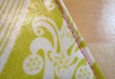 sewing laminated cotton