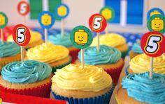 Cupcakes - festa lego