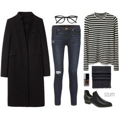235 by szum on Polyvore featuring Proenza Schouler, Alexander Wang, J Brand, Senso, Acne Studios, Selima Optique and Chanel