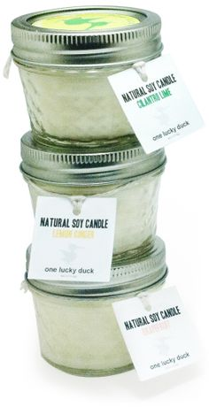 Freshly Pressed! New One Lucky Duck candle scents based on One Lucky Duck juices!